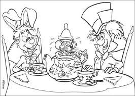 Alice 17 Coloring Pages