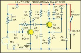 wiring diagram for car fm wireless microphone wiring diagram rows