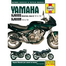 manual haynes for 1995 yamaha xj 600 s diversion half faired image is loading manual haynes for 1995 yamaha xj 600 s