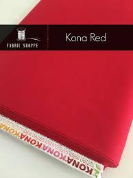 Kona cotton solid quilt fabric, Kona RED 1308, Kona fabric, Solid ... & Kona cotton solid quilt fabric, Kona RED 1308, Kona fabric, Solid fabric  Yardage, Kaufman, Christmas fabric, Choose the cut Adamdwight.com