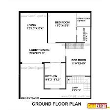 House Plan For 33 Feet By 40 Feet Plot Plot Size 147 Square