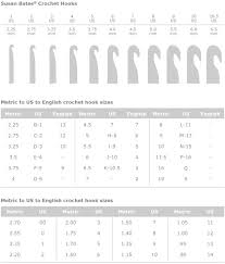 crochet hook size chart crochet hook sizes for beginners unique 1000 images about