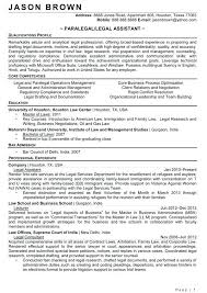 Legal Assistant Resume Samples Legal Assistant Resume Objectives