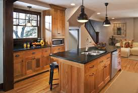 Kitchen Cabinet Wood Choices Natural Oak Cabinets With Soapstone Counter Tops Appropriate