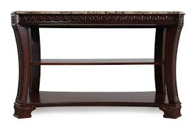 sofa console table. Images Two-Open Shelf Traditional Console Table In Dark Cherry Sofa