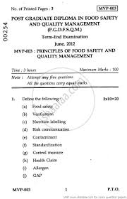 principles of food safety and quality management  principles of food safety and quality management 2012 agriculture food safety and quality
