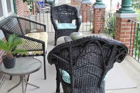 I Thought About Providing A Tutorial On How To Spray Paint Wicker Chairs  But Thereu0027s Really Not Much To It. Buy The Spray Paint Color You Like And  Cover ...