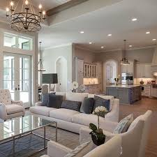 Put french doors all around the dining so it can open up, U-shaped. Kitchen  With Living RoomLiving Room PlanLiving ...