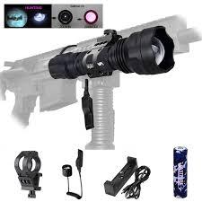 Led Tactical Hunting Weapon Light Zoomable <b>5W</b>/7W <b>IR 850nm</b> ...