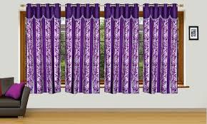 Designer Curtains Flipkart Ville Style 153 Cm 5 Ft Polyester Window Curtain Pack Of 4