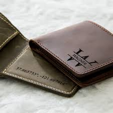 personalized leather wallet previous next