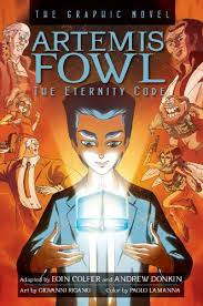 book 3 of the artemis fowl the eternity code the graphic novel eoin colfer