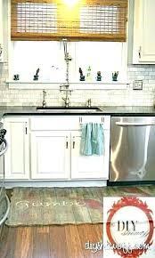 farmhouse style kitchen rugs farmhouse style kitchen porcelain sink in vintage cabinet rugs weather radar home ideas decor