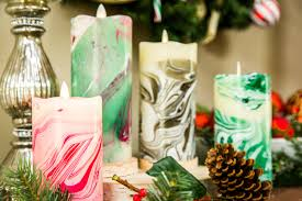 diy marble candle