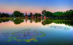 Sukhothai Historical Park Thailand HD ...