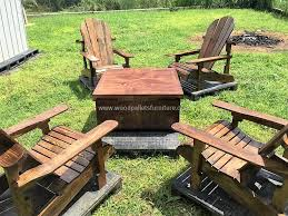 furniture made of pallets. Patio Furniture Set Made With Wooden Pal. Of Pallets
