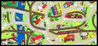 kids street rug kids road rug map play with roads street cool mat city children learning