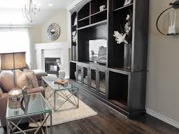 transitional neutral living room with