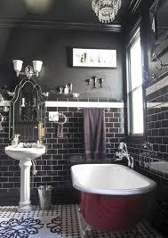 clawfoot tub bathroom designs. Plain Tub Black Bathroom With Dark Cherry Red Clawfoot Tub Inside Clawfoot Tub Bathroom Designs E