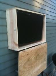 outdoor tv cabinet tigerdroppings outdoor porch ideas homemade outdoor tv enclosure layout design minimalist