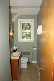 small narrow half bathroom ideas. Narrow Bathroom Design Small Space Orange Wall Color Scheme Excerpt White Vs Black Half Ideas