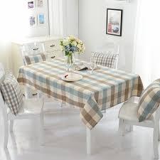 Pays Damérique Style Couverture De Table étanche Treillis Nappe