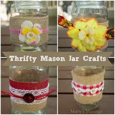 How To Decorate A Mason Jar ThriftyMasonJarCraftsandVideopng 10