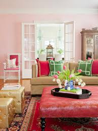 colored living room furniture. Furniture For The Living Room Andrea Brooks Pink Red Carpet Coffe Table Cushions Colored I