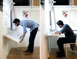 fold up wall desk build wall mounted desk you hanging folding laundry table kitchen wall hanging