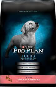 Purina Pro Plan Focus Puppy Lamb Rice Formula Dry Dog Food 18 Lb Bag