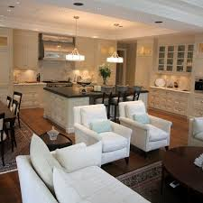 dining room and kitchen. great room kitchen dining family combo maybe eventually we can and g