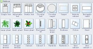 floor plan furniture symbols bedroom. Floor Plan Furniture Symbols Bedroom D