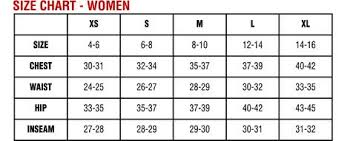 32 Degrees Heat Size Chart Sizing Chart Look Love Lust