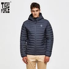 <b>Мужская куртка с капюшоном</b> Tiger Force, однотонная ...