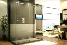 sliding shower doors without bottom track shower door bottom track large image for sliding door without
