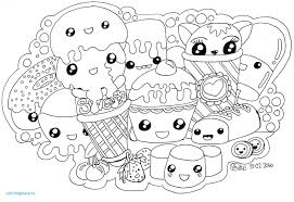 Cartoon Food Coloring Pages