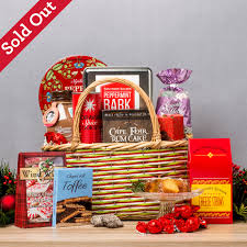 holiday delights gift basket southern season