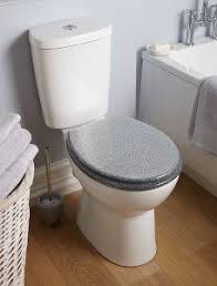 gold glitter toilet seat. george home glitter toilet seat - silver | bathroom fittings at asda gold
