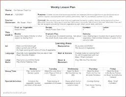Kindergarten Lesson Plan Template Word Deped Pdf Sample In The