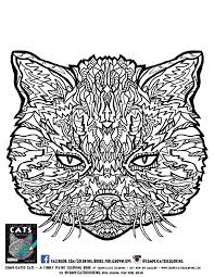 Small Picture Free Complicated Cats In Coloring Pages glumme