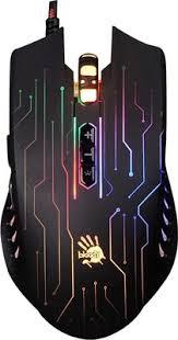 <b>Мышь игровая проводная A4Tech</b> Bloody Q82 черный/рисунок ...
