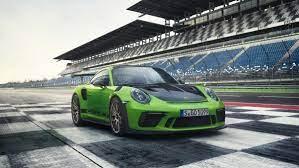 Porsche 911 Gt3 Rs 2018 In Deutschland Erfolgt Ab Mitte April 2018