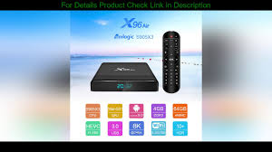 Review 2020 Smart TV Box X96 Air tvbox Android 90 Amlogic S905X3 4GB 64GB  255G Wifi Support BT42 Ne - YouTube