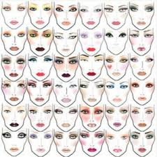makeup cles on 2000 mac makeup face charts cosmetics manual ebay