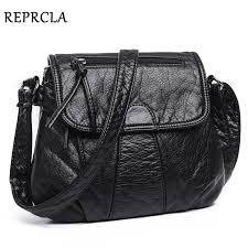 reprcla brand designer women messenger bags cross soft pu leather
