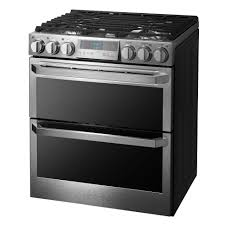 side by side double oven electric range. Perfect Oven LG Signature Double Oven In Side By Electric Range