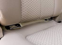child latch access for back seat covers