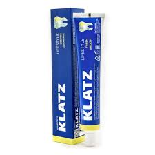 <b>Зубная паста KLATZ</b> Lifestyle Свежее дыхание, 75 мл — купить в ...