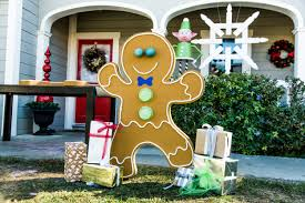 astonishing ideas gingerbread house outdoor decorations diy designs
