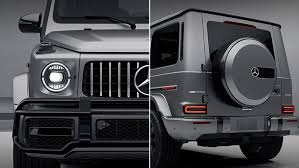 This vehicle was matte black from the factory but still featured chrome accents here and there; 2021 Amg G 63 Suv Mercedes Benz Usa